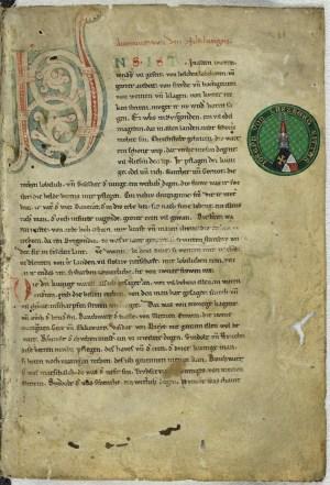 Nibelungen-Handschrift_C,_Blatt_1r